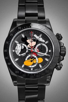 A First Look at John Mayer's Custom Mickey Mouse Rolex Daytona