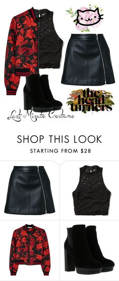"""Untitled #219"" by luchimahone ❤ liked on Polyvore featuring Guild Prime, Abercrombie & Fitch, Alice + Olivia and Hogan"