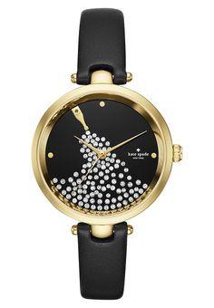 Luxe kate spade new york HOLLAND - Horloge - schwarz Zwart: € 229,95 Bij Zalando (op 19/05/17). Gratis verzending & retournering, geen minimum bestelwaarde en 100 dagen retourrecht!