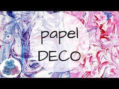 Como Hacer Papel Decorado a Mano para Scrapbook video Tutorial DIY español... Hola! Hoy te quiero compartir este #papel #deco marmoleado para #scrapbook muy divertido para hacer: https://www.youtube.com/watch?v=Hm_fJR0INjY&list=PLPW20nn_RpKrrAG5431Xo33qR1dUZIL-A&index=1