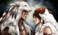 Сonnor and Princess Mononoke