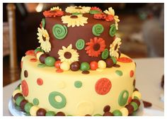 Perfect for my (November birthday! Fall Birthday Cakes, 6th Birthday Parties, Birthday Bash, Birthday Ideas, November Birthday, November 9th, Thanksgiving Cakes, Cake Images, Cute Cakes