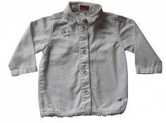 Maat 80 Spijker blouse Wit Merk Mexx