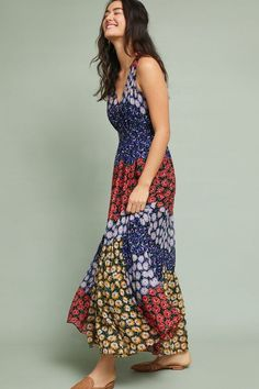 ec038008f9b1b NWT ANTHROPOLOGIE PETULA FLORAL MAXI DRESS by MEADOW RUE M #Anthropologie # Maxi #PartyCocktail