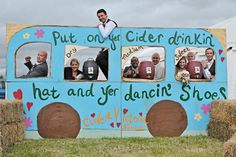 Have a bit of Glastonbury Festival at your wedding.... hire this cider bus! contact Amy; www.beachgypsy.co.uk