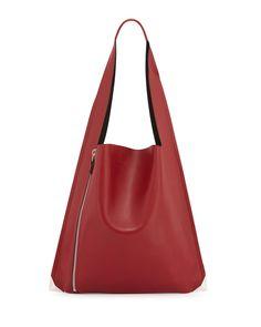 Estia Sensua Calfskin Shoulder Bag, Ribes