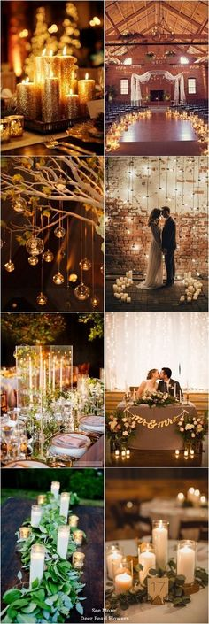 395 Best Romantic Candles Images Dream Wedding Wedding Tables