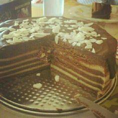 Tarta capas chocolate belga!