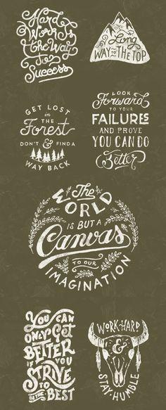 Typography by Mark van Leeuwen