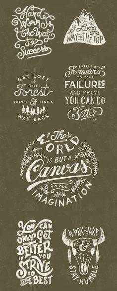Typography by Mark van Leeuwen Cool Lettering, Typography Letters, Typography Logo, Graphic Design Typography, Lettering Design, Typography Inspiration, Graphic Design Inspiration, Web Design, Logo Design