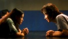 City of Glass (1998) by Mabel Cheung Yuen-Ting. Stars: Leon Lai Ming, Shu Qi, Nicola Cheung Sun-Yu, Daniel Wu. It follows two romances: one in the past and one in the present. The present one is between Wooly Suzie and David, who first meet at the police station following the deaths of their parents in a car wreck. The kicker: the two were not married, and were carrying on an affair.