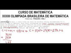 Questão resolvida da XXXIII OLIMPÍADA BRASILEIRA DE MATEMÁTICA (OBM) da Primeira Fase. Solução do Problema 1 do Nível 1. Aula do Curso de Raciocínio Lógico Numérico Quantitativo e de Matemática.  Problemas e soluções da Primeira Fase. Questões do NÍVEL 1.  Exercício solucionado: https://youtu.be/hBoJHLCHOok