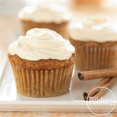 Spicy Carrot Cupcakes from Pillsbury® Baking