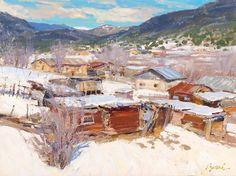 Artist: Walt Gonske - Title: North San Ysidro