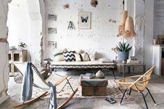 woonkamer in strandsfeer | livingroom in beach style | 08-2014 | photography: Jansje Klazinga | styling: Frans Uyterlinde