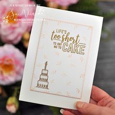 Miss Pinks Craft Spot featuring Stampin' Up! products by Sue Vine, Adelaide South Australia Pink Crafts, Australia Living, Set You Free, Calla Lily, Thank You Gifts, Step By Step Instructions, Flower Arrangements, Card Stock, Stampin Up