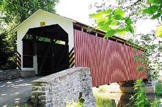 Driving Tours of Lancaster Covered Bridges in Pennsylvania