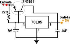aumentando potencia de 78L05