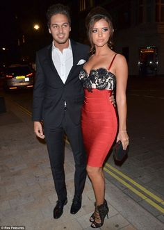 Famous ex: Lucy dated TOWIE co-star Mario Falcone on and off from with both of . Mario Falcone, Louis Smith, Yellow Bikini, Sunnies, Dubai, Boyfriend, Celebs, Star, Formal
