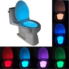 LED Lamp Motion Activated Toilet light
