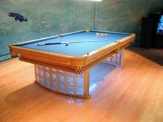 Amazing custom Olhausen table.