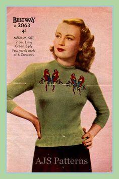 Hoi! Ik heb een geweldige listing op Etsy gevonden: https://www.etsy.com/nl/listing/68692162/pdf-knitting-pattern-fabulous-1940s-love