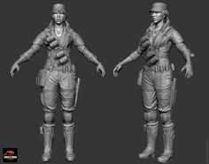 Title: EVOLVE Game characters  Name: Majid Esmaeili   Country: Iran   Submitted: 10th February 2016  some Zbrush modelsI have worked on while I was working on Evolve game at TRS !