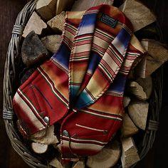 Vintage Serape Field Vest | Ralph Lauren