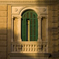 Italian building in Libya