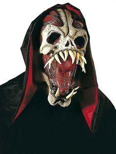 Alien monstermaske - BlikfangsKostumer.dk