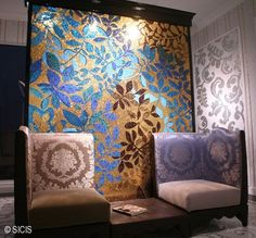 Sicis Mosaic Tile-this company does the most inspired and beautiful installations of tile I've ever seen.