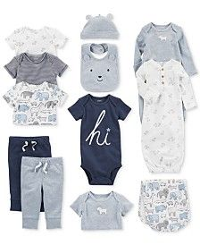 Baby Boy Clothes at Macy's come in a variety of styles and sizes. Shop Baby Boy Clothing and find the latest styles for your little one today. Preemie Clothes, Crochet Baby Clothes, Baby Kids Clothes, Toddler Outfits, Baby Boy Outfits, Kids Outfits, Baby Doll Accessories, Gender Neutral Baby Clothes, Reborn Baby Dolls