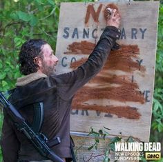 #TheWalkingDead - No Sanctuary (5x01) | Não Vivo sem Séries!