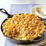 King Ranch Chicken Mac and Cheese Recipe | MyRecipes.com This is one of my family's very favorite dinners. It tastes just like chicken enchiladas mac and cheese style. I usually double the recipe and make it in a 9 X 13 pan.