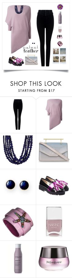 """Poly Contest"" by sherry7411 on Polyvore featuring Citizens of Humanity, Ralph Lauren, M2Malletier, Mark & Graham, Polaroid, Anouki, Nails Inc., Living Proof and Yves Saint Laurent"