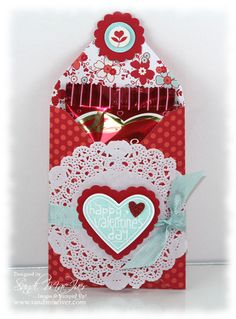 Sealed With Love ~ Stampin' Up! ~ Valentine Treat Bundle by Sandi MacIver