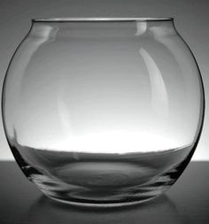"""Glass Bubble Ball Vases 5"""" tall (set of 6). $13.99. 5"""" tall with a 3.75"""" opening."""