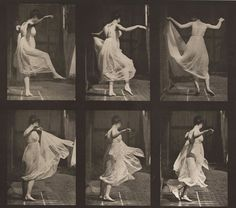 Eadweard Muybridge Dancing 1887