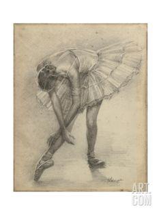 Antique Ballerina Study II by Ethan Harper