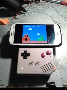 Game Boy Controller for your Android phone (Instructables)