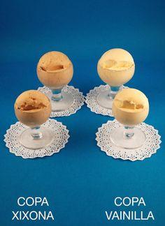 COPA JIJONA, VAINILLA #sirvent #barcelona #helado #icecream #delicious #parlament56 #horchata #orxata http://www.turronessirvent.com/