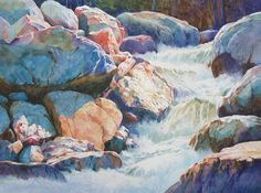 Gallery of Original Watercolors on Smooth Surfaces - Ann Pember - Ann Pember