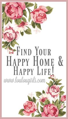 "Part 4 of our series Find Your Happy Home and Happy Life! As the Lou Lou Girls, we could not be more different.  Hi, I'm Kimberly, I'm the mom of Jessica, Cassie, and the mother in law to Amber. Our whole goal on the Lou Lou Girls' blog is to help you create a happy home. There … Continue reading ""Find Your Happy Home & Happy Life – Part 4"""