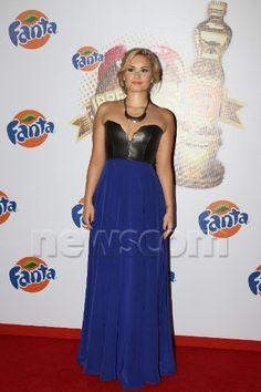 Demi Lovato maxi dress