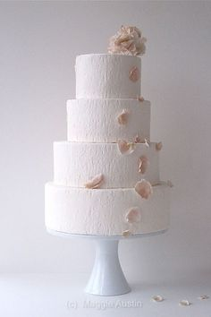 Elegant Simple Wedding Cake