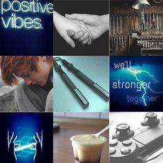 Jay ninjago collage - by kittyshish