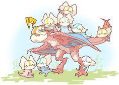 #monsterhunter #kutku monster hunter Monster Hunter Cosplay, Monster Hunter 3rd, Monster Hunter Series, Monster Hunter 4 Ultimate, Super Fun Games, Dragon Mythology, Shadow Wolf, Pokemon Eevee, Cute Dragons
