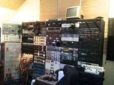 Andrew Scheps outboard rack. He does a lot in the box, but he still uses every piece. It's even more impressive when you're there in person. #recording