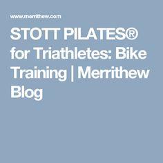 STOTT PILATES® for Triathletes: Bike Training | Merrithew Blog