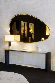 'Muse' Mirror by Herve Langlais | From a unique collection of antique and modern wall mirrors at http://www.1stdibs.com/furniture/mirrors/wall-mirrors/
